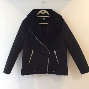 Brand new HM biker coat